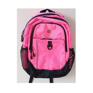 Swiss Gear Bags - SwissGear Day Pack Pink with Black Backpack